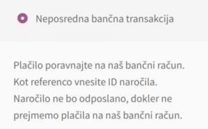 Neposredna bančna transakcija