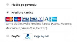 Plačilni sistemi - blagajna